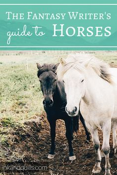 A guide to horses for writers, especially those writing fantasy or historical fiction. Ever wonder how far a horse can travel in a day, or how people in the middle ages cared for their horses? Do you know the difference between a nicker and a neigh? Find out and write horses more realistically in your story! http://inkandquills.com/2015/05/10/the-fantasy-writers-guide-to-horses/