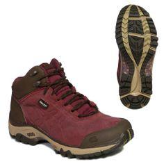 ASICS LADY GEL-ARATA GORE-TEX Waterproof Mid Trail Walking Boots - 6 - Red | Kencleng Store
