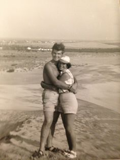 This+is+a+picture+of+my+grandparents,+Norman+and+Barbara+Mitchell+from+when+they+were+dating+in+Jockey's+Ridge,+NC.—Casey+Parvin