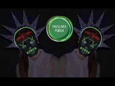 Máscara purga DIY / Máscara estatua de la libertad / Máscara the purge / Máscara película DIY