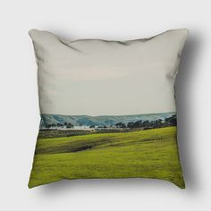 Bodega Bay Outdoor or Indoor Pillow Cover by LemoneeOnTheHills