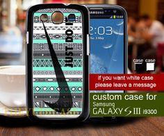Nike aztec mint - Samsung Galaxy S3 Case   TheYudiCase - Accessories on ArtFire