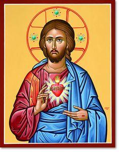 Sacred Heart original icon 20 tall