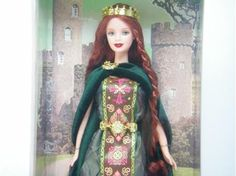プリンセス・オブ・アイルランド・バービー - バービー人形通販【ビューティーバービー】