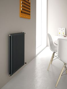 Kiclos 2 is an exclusive design modular radiator made of aluminium and composed of 25 mm long vertical elements for single or combined use, available in a choice of 46 stylish finishes and 24 sizes. Bedroom Radiators, Best Radiators, Kitchen Radiators, Modern Radiators, Contemporary Radiators, Vertical Radiators, Column Radiators, Victorian Radiators, Victorian House Interiors