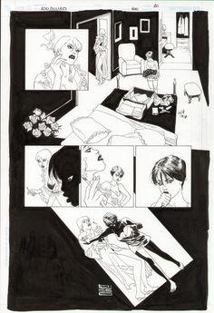 100 Bullets #100 page 10 - Eduardo Risso Comic Art