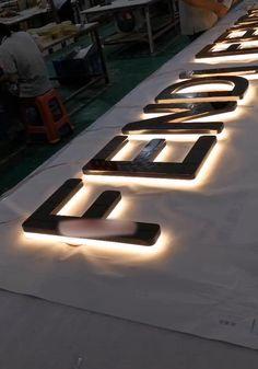 Retail Shop Sign,Led Illuminated Sign Letters,Metal Sign Letter,Neon Sign Letter,Brand Logo Sign,Hotel Sign,Office Sign,Restaurant Sign Led Sign Board, Signage Board, Shop Signage, Signage Display, Wayfinding Signage, Signage Design, Shop Board Design, Cafe Shop Design, Backlit Signage