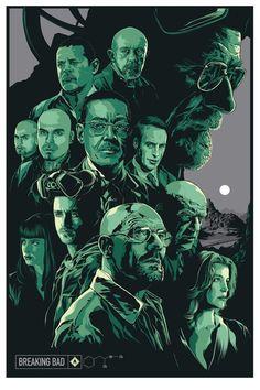Breaking Bad by Ken Taylor ¿Recordáis el robo de aquel famosos guión? http://beewatcher.es/roban-un-guion-de-breaking-bad-del-coche-de-bryan-cranston/
