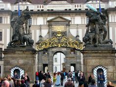 Entrance to Prague Castle - Things to Do in Prague - The Trusted Traveller