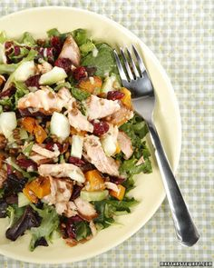 Just Salad Immunity Bowl | Martha Stewart Living - This delicious and healthy salad, courtesy of Rob Crespi and Nick Kenner of Just Salad, packs numerous nutrients into one meal.