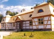 Polish manor house - pommeranian style, Kaszuby, Poland