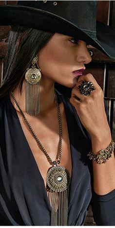 Diamond Cowgirl ~ Morena Rosa                                                                                                                                                                                 More
