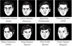 2016 FIDE World Chess Candidates Tournament   Chess News World Championship, Some Pictures, Chess, Fictional Characters, Gingham, Art, World Cup, Fantasy Characters
