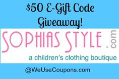 sophiasstyle header Sept Sophia's Style review and Gift Certificate Giveaway http://www.weusecoupons.com/2014/09/sophias-style-review-and-50-gift-certificate-giveaway-2/ via @weusecoupons @SophiasStyle