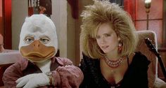 Oh my dear lord....Howard the Duck....so awful and so glorious when I would find it playing on TV when I was a kid!