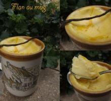 Recette - Flan au mug - Proposée par 750 grammes