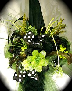 Elphaba 's Wicked Witch Hat IV  Halloween by Marcellefinery, $82.00