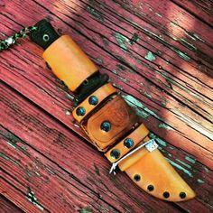 Custom Hand Made Leather Modular Sheath for Busse TGLB