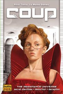 Coup Card Game The Resistance Universe players Family Fun Game NEW Free Shipp Set Card Game, Card Games, Fun Games, Games To Play, Strategy Games, Deduction, Tabletop Games, Family Games, Games