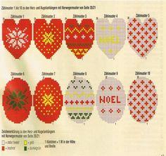 Схема вязания украшения для елки