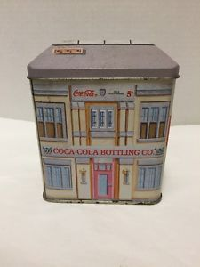 Coca-Cola-Bottling-Co-Tin-Box-1992-Vintage-5c-Coke-Delicious-Refresing
