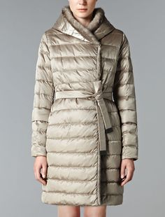 Exaggerated Proportions: Max Mara 'Manuela' camel coat, mini skirt ... : max mara quilted jacket - Adamdwight.com