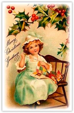 "G039 - Nostalgisch geurzakje ""Merry Christmas Greetings"""
