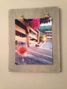 Glass of Wine at Corey Creek by NorthForker on Etsy