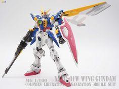 GUNDAM GUY: MG 1/100 Wing Gundam TV Ver.- Customized Build