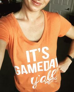 It's Game Day Y'all!!!!!!! We love our shirts from @gamedaydarling that we got at @chasingwillows !! #gbo #gamedaydarling #chasingwillows #ilovelocalknoxville #knoxvilletn
