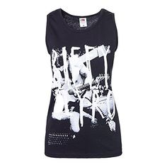 a3829f8b35 Women s Sweater Vests - Biffy Clyro Scrawl Tank Black   Click image for  more details.