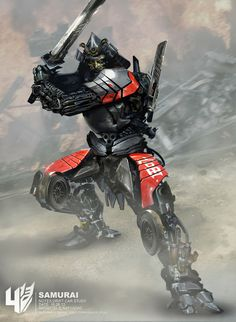 #Transformers_Age_of_Extinction_Cocnept_Art_EN02_Samurai