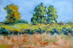 Sanctuary on the Boundary  original landscape by ElaineMari, $60.00
