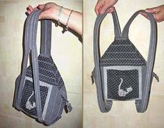 tutorial for handles for rucksack or backpacks etc