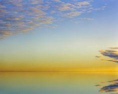 Quality image (salt flats sunset)
