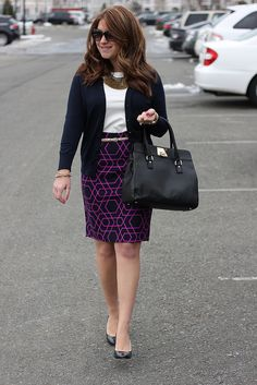 Mix & Match Fashion: Geometric Print Skirt