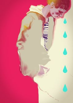 Cry me a river by Svetlana Ihsanova, via Behance