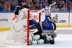 One of the newer faces at the time, Jordan Binnington in early January. Conference Logo, Nhl Logos, St Louis Blues, National Hockey League, Go Blue, New Face, The St, Team Logo, Cool Photos