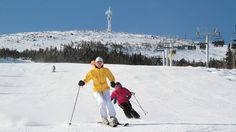 Sugarloaf Ski Area as seen at VisitMaine.net