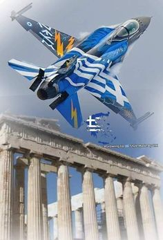 Hellenic Air Force, F 16, Army & Navy, Ancient Greece, Fighter Jets, Aircraft, Greek, Photography, Aviation