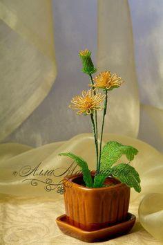 Alla Maslennikova, bead artist - Beaded Flowers