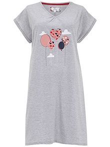 Balloon Short Nightdress