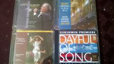 Nice find at Frenchy's in #Shediac #NewBrunswick. Three #audiophile CDs of the Boston Symphony Orchestra and a Delos recording of Gershwin songs. All for $4!