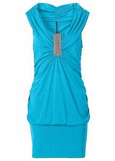 La robe matière T-shirt, BODYFLIRT, bleu ciel 35€