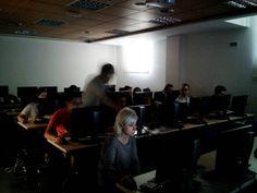 Realizando los proyectos #workshop #Almagro #UCJC #Saxion #RenaturalizacionGranSanBlas