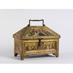 Casket | dei Crocifissi, Simone | V&A Search the Collections 1360
