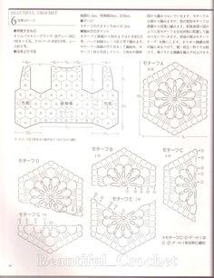 Nana crochê: Coletinho de crochê azul