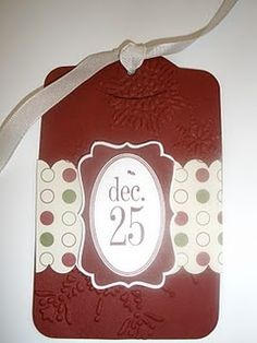 Stampin' Up, Tags