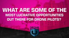 What are some of the most lucrative opportunities out there for drone pilots! Start making $$ with your drone business today. We make it easy with BUY NOW PAY LATER finance option as low as 25$ per month. Now what are you waiting for. https://www.dynnexdrones.com/