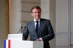 French President Emmanuel Macron is open to travelling to the United States for an in-person meeting of Group of Seven leaders if the coronavirus epidemic situation allows, an Elysee official said on Wednesday. World Trade Towers, Beaux Couples, French Foreign Legion, French President, Emmanuel Macron, Video News, Presidents, Suit Jacket, Political Leaders